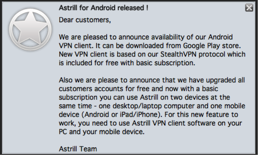 Astrill VPN Review 2015 for Android, iPad, Mac, PC and DDwrt