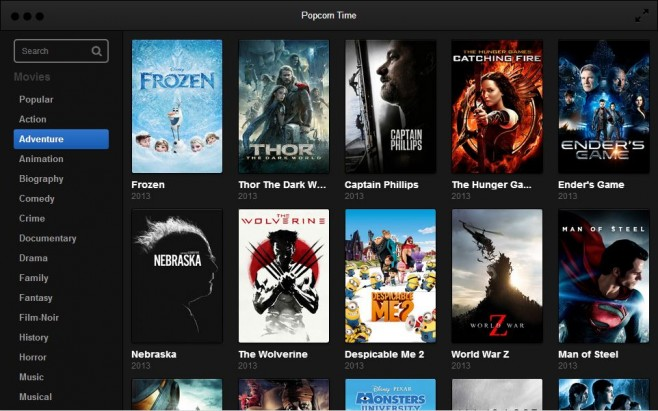 Use a VPN with Popcorn Time