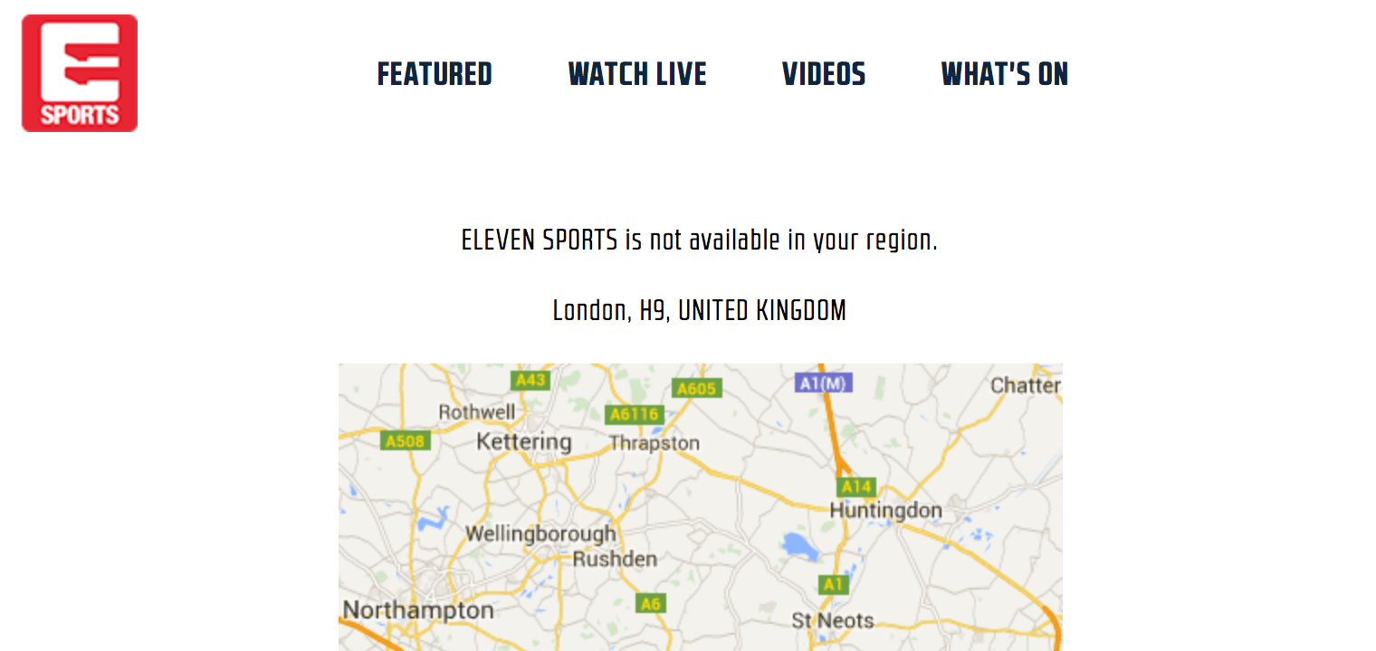 How to watch eleven sports in uk