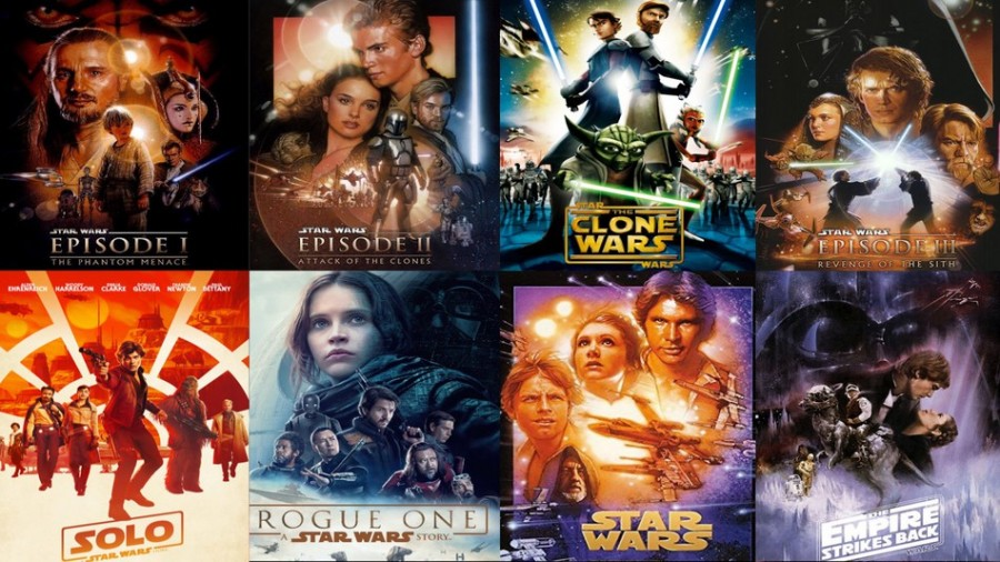 How to stream all Star Wars films on line and in order